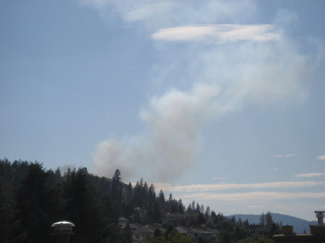 Peterson Creek Forest Fire